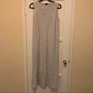 NWT J. Jill stripped midi dress